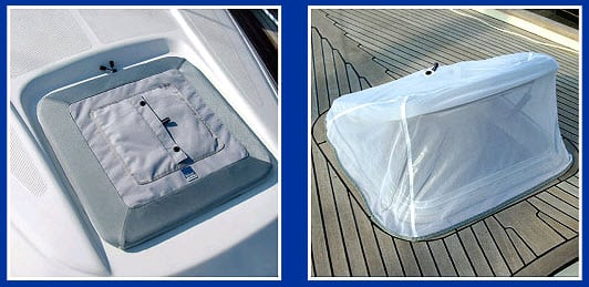 Hatch Cover with Mosquito net