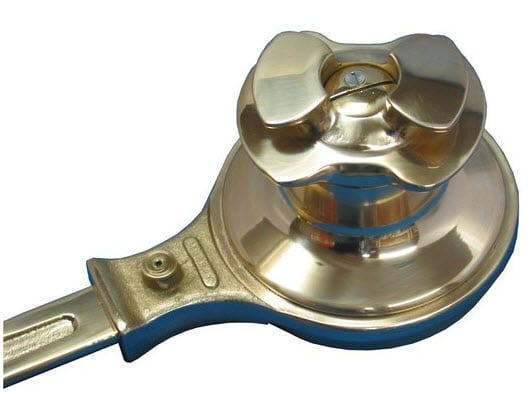 Murray Sheet Winch Round Base with Top Cleat Minor