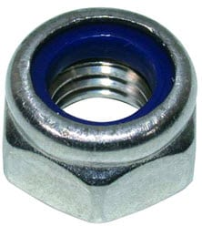 Nylon Insert Nuts Stainless Steel (Nyloc)