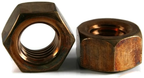 Hex Nuts - Bronze