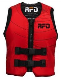 RFD Hurricane Buoyancy Vest adult sizes