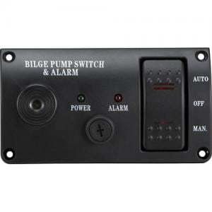 3 Way Bilge Pump Switch With Alarm