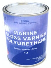 Varnish Marine Gloss Polyurethane
