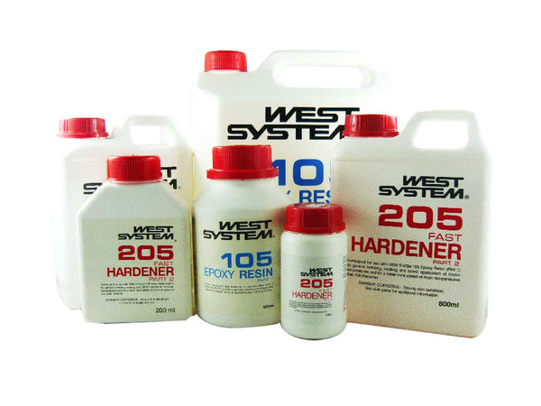 West System Epoxy Resin and Fast Hardener