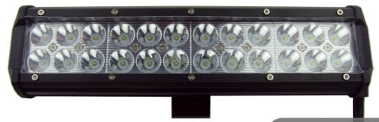 LED Worklight 72Watt Spot 9-33V 6500 Lumens 24x3W Cree LED