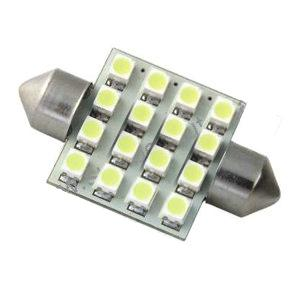 LED Festoon Bulb - 12v 39mm