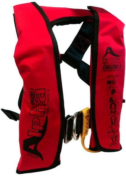 Childs Inflatable Lifejacket Auto with Harness