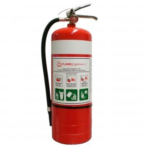 Fire Extinguisher - 6Kg Dry Powder
