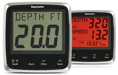 Sailing Instruments Raymarine i50 and i60