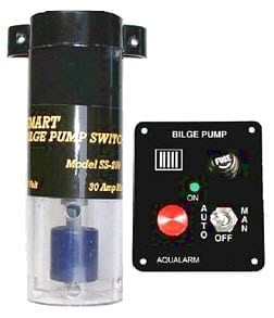 Aqualarm SMART BILGE PUMP SWITCH, Float Switch & ALARM KIT