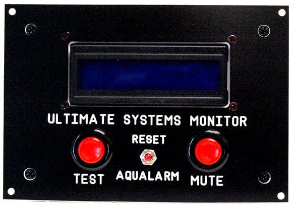 AQUALARM ULTIMATE SYSTEMS MONITOR. SINGLE