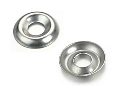 Cup Washers - Stainless Steel