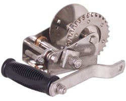 Trailer Winch 3:1 Stainless Steel Heavy Duty (Double Ratchet)
