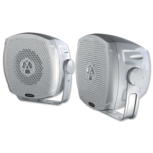 "Fusion 4""  True Marine Outdoor Box Speakers 2 Way"