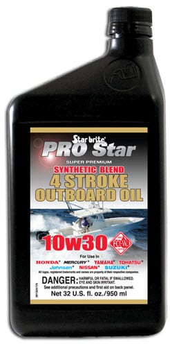 Starbrite  Pro Star 4 Stroke Outboard Oil 10w30 950ml