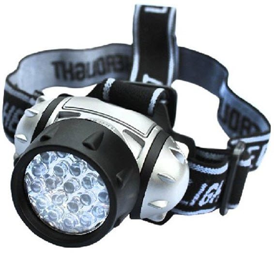 14 LED Headlamp - upto 210 Hours battery life!
