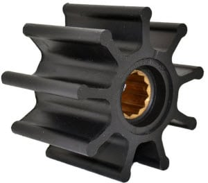 Impeller 93.5mm 6.2mm 9 Vane
