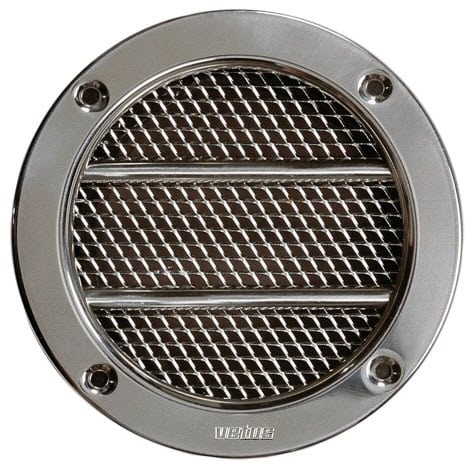 S/S CIRCULAR GRILL VENT
