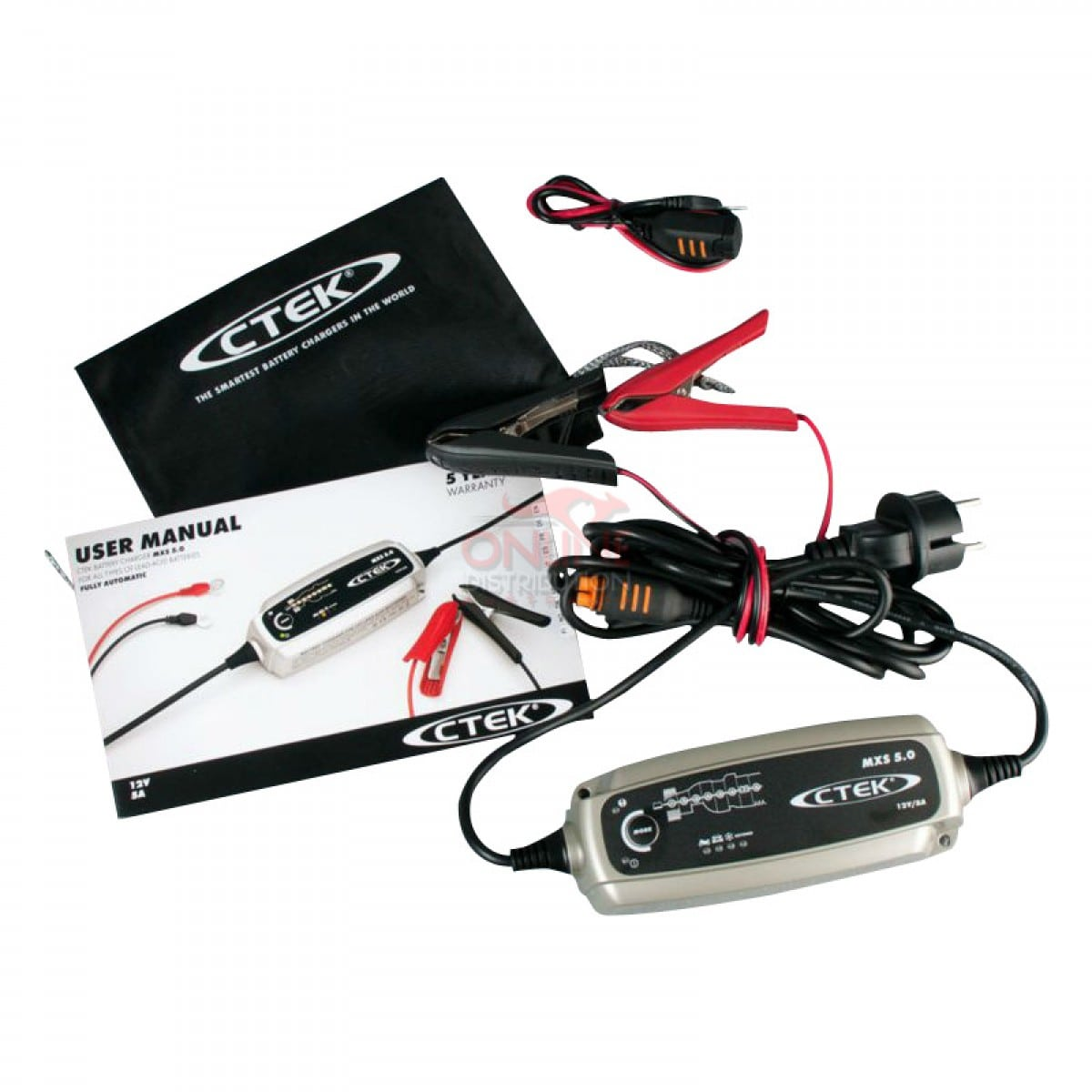 Ctek 5Amp Battery Charger and Maintainer upto 110Ah.