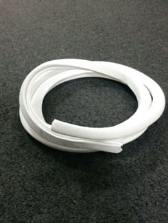 Edge Trim White PVC 6mm