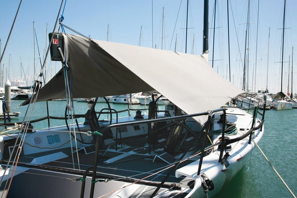 Sailboat awning covers