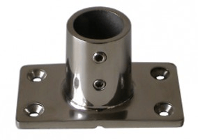25mm S/S tube end plate