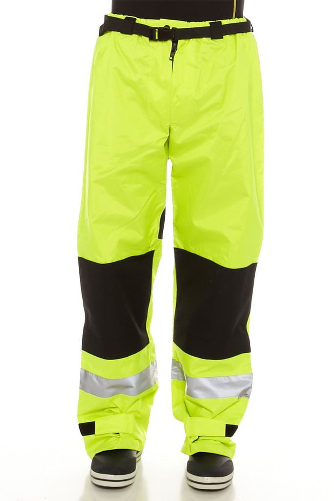 Hi-Vis Safety Wet Weather Trousers