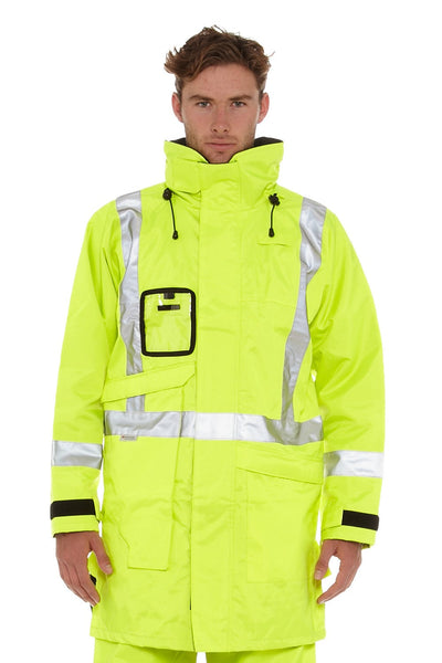 Hi-Vis Safety Wet Weather Jacket