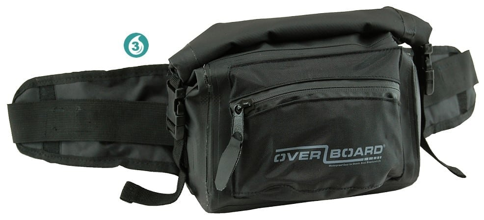 Over Board Waterproof Waist Pack - 3 Litres