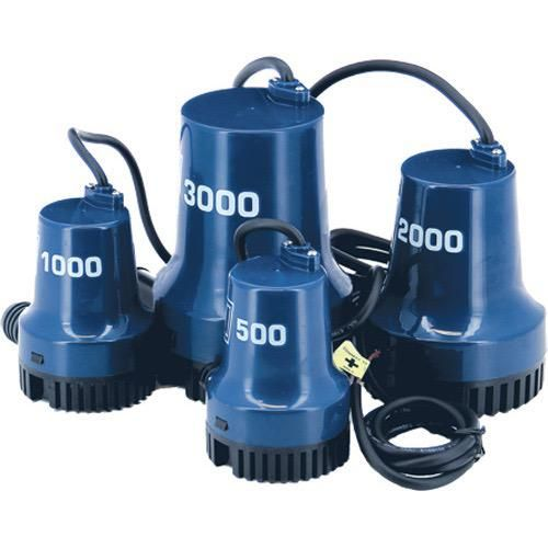 Submersible Bilge Pumps that work underwater
