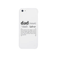 Load image into Gallery viewer, Dad Noun White iPhone 5 Case