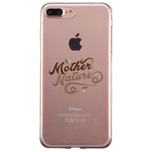 Load image into Gallery viewer, Mother Nature Jelly Phone Case Best Mom Gift Birthday Mother's Day