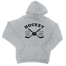 Load image into Gallery viewer, Hockey Mom Unisex Pullover Hooded Sweatshirt Funny Mothers Day Gift