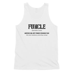 Funcle Mens Sleeveless Top