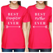 Load image into Gallery viewer, Best Daughter & Mother Ever Hot Pink Cute Moms Gifts From Daughters