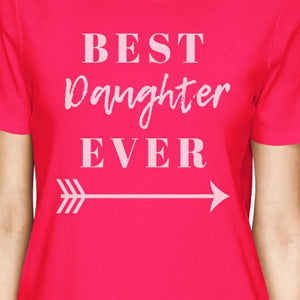 Best Daughter & Mother Ever Hot Pink Cute Moms Gifts From Daughters
