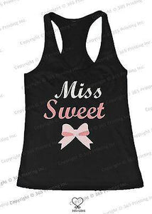 BFF Tank Tops Miss Wild and Miss Sweet Matching Shirts for Best Friends