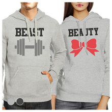 Load image into Gallery viewer, Beast And Beauty Matching Hoodies Pullover Funny Couples Gifts
