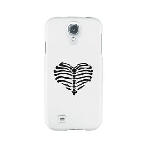 Skeleton Heart White Phone Case