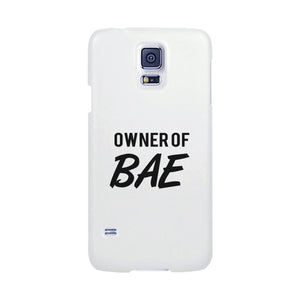 Owner Of Bae-Right White Phone Case