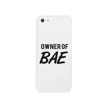 Load image into Gallery viewer, Owner Of Bae-Right White Phone Case