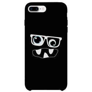 Monster With Glasses Phone Case Funny Halloween Theme Gift