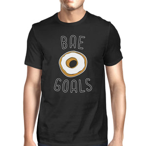 Bae Goals Men's Black T-shirt Funny Gift Ideas For Valentine's Day
