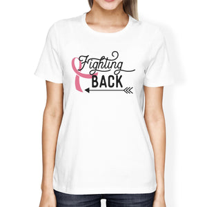 Fighting Back Arrow Womens Shirt
