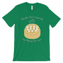 Load image into Gallery viewer, My Fillings Dumpling Dimsum Mens T-Shirt For Dumpling Lover Gifts