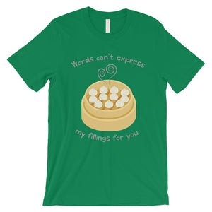 My Fillings Dumpling Dimsum Mens T-Shirt For Dumpling Lover Gifts