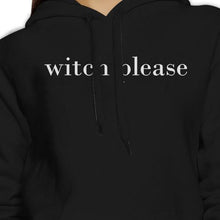 Load image into Gallery viewer, Witch Please Black Hoodie