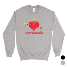 Load image into Gallery viewer, Heart Breakers Unisex Crewneck Sweatshirt For Anniversary Gift