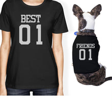 Load image into Gallery viewer, Best01 Friends01 Small Dog Owner Matching Apparel For Dog Moms