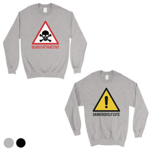 Load image into Gallery viewer, Attractive & Cute Matching Sweatshirt Funny Valentine's Day Gift